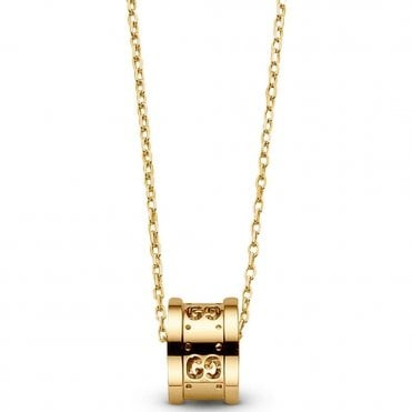 Yellow Gold Icon Twirl Necklace