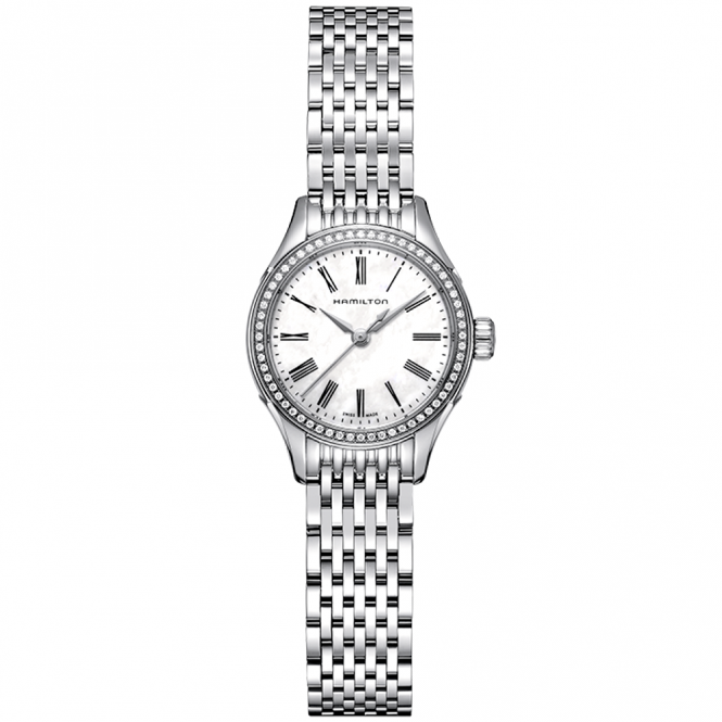 Hamilton American Classic Roman Dial & Ladies Stainless Steel Bracelet Watch