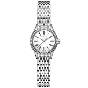 American Classic Roman Dial & Ladies Stainless Steel Bracelet Watch