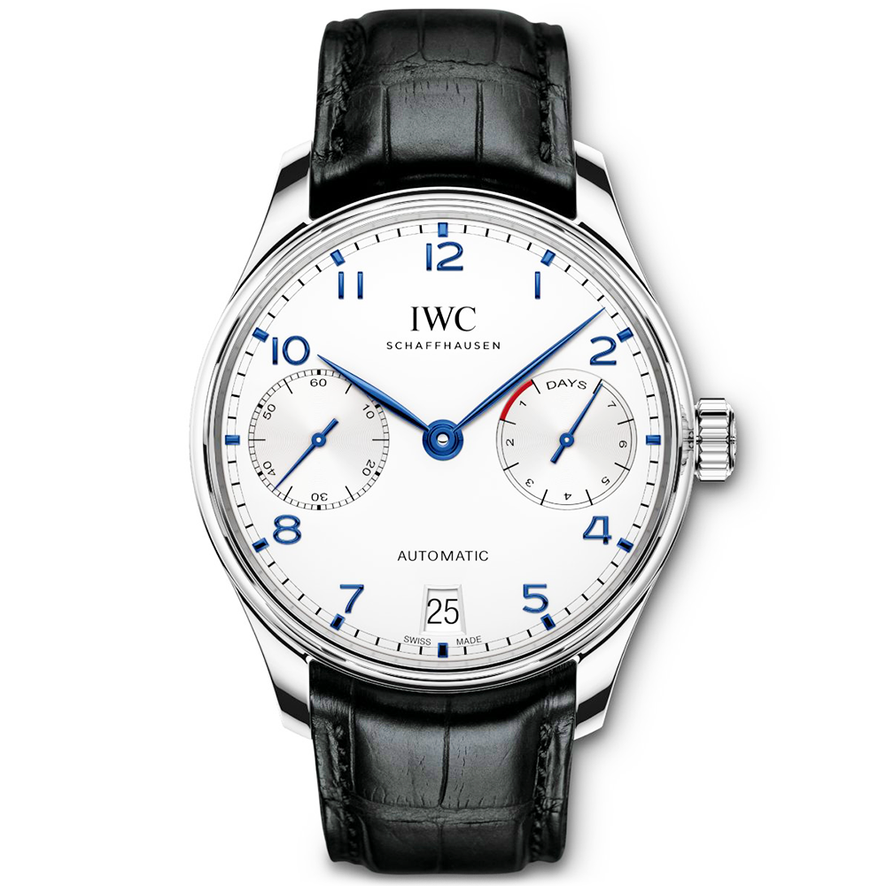 iwc portugieser automatic 7 day power reserve watch iw500705. Black Bedroom Furniture Sets. Home Design Ideas