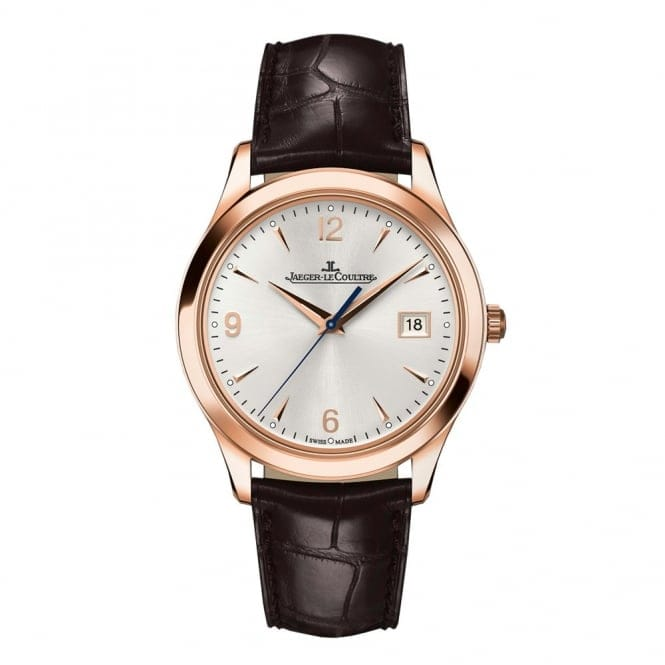 jaeger lecoultre master control men 39 s leather strap watch q1542520 from berry 39 s jewellers