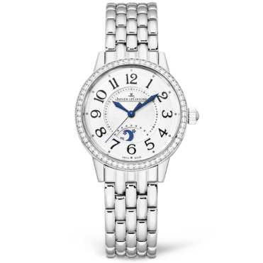 Rendez-Vous Night & Day Steel 29mm Silver Dial Ladies Bracelet Watch