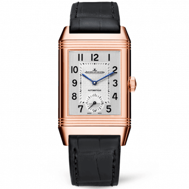 Reverso Classic Large Duoface & 18ct Pink Gold Men's Watch
