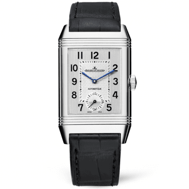 Reverso Duoface Silver/Black Dial Automatic Men's Watch
