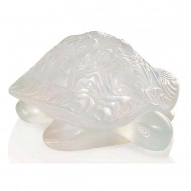 Crystal Opalescent Turtle Ornament