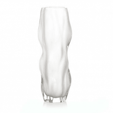 Icy Clear Crystal Vase