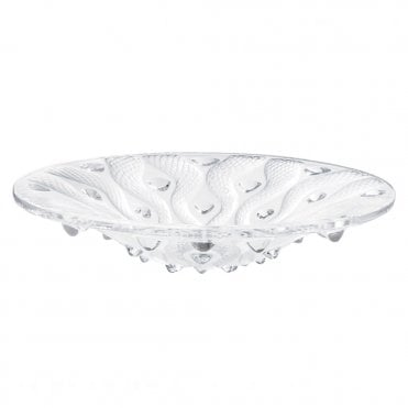 Serpentine Clear Crystal Bowl
