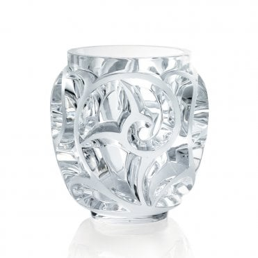 Tourbillons Clear Crystal Vase