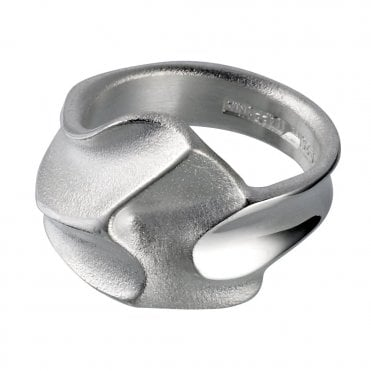 Cissia Silver Ring Designed by Zoltan Popovitz