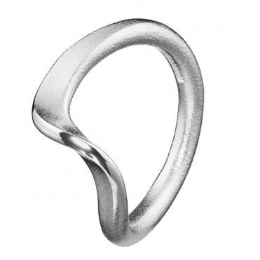 Flowing Wind Silver Ring Designed by Chao-Hsien Kuo