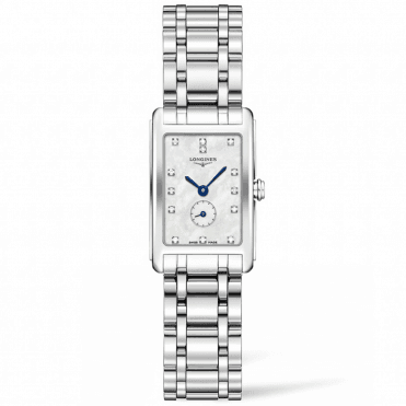 DolceVita White Diamond Set Dial Ladies Quartz Watch