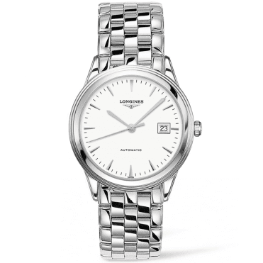 Flagship 38.5mm White Index Dial Men's Automatic Watch