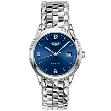 Flagship 38mm Blue Sunray Dial Automatic Bracelet Watch