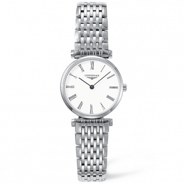 La Grande Classique 24mm White Roman Dial Ladies Watch