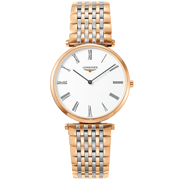La Grande Classique 36mm Steel & Rose Gold PVD Bracelet Watch