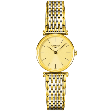 La Grande Classique Gold PVD Dial Ladies Bracelet Watch