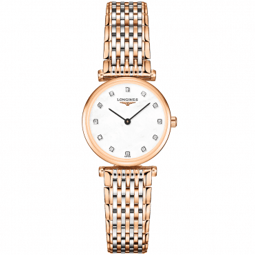 La Grande Classique Two-Tone Steel & Rose Gold PVD Watch