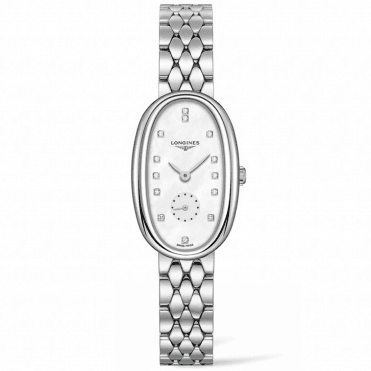 Symphonette Medium Mother of Pearl & Diamond Dial Watch