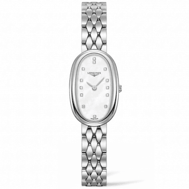 Symphonette Small Mother of Pearl & Diamond Dial Watch