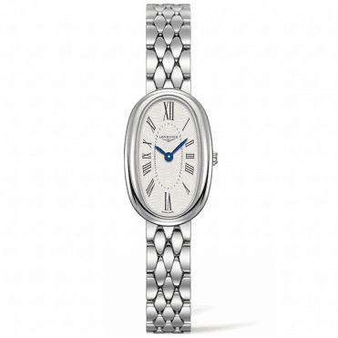 Symphonette Small Silver Roman Dial Ladies Watch