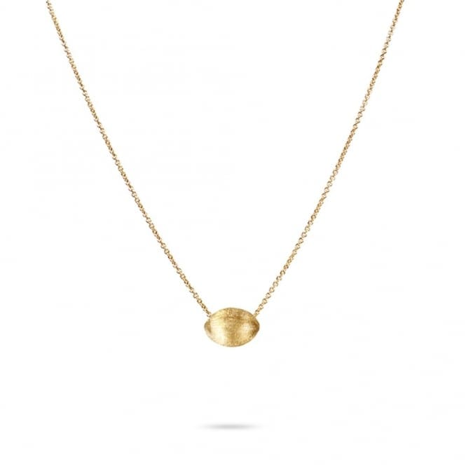 Marco Bicego Delicati 18ct Yellow Gold Oval Design Pendant