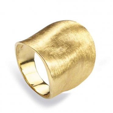 Lunaria 18ct Yellow Gold Dress Ring