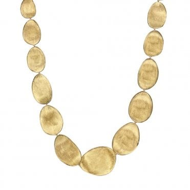 Lunaria 18ct Yellow Gold Necklace