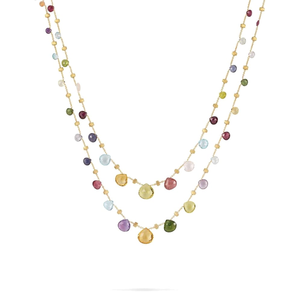 Marco Bicego 18ct Yellow Gold Paradise Necklace From Berry ...