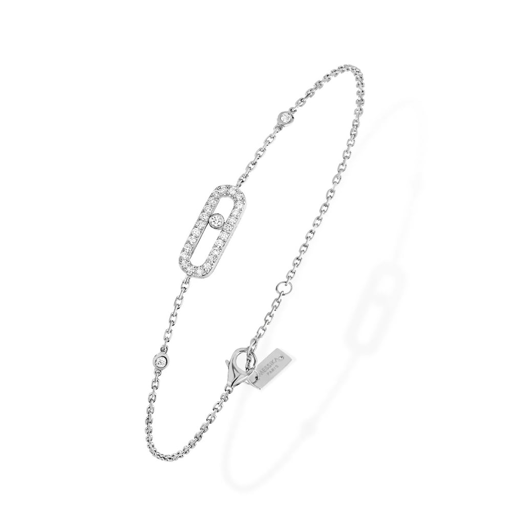 single product silver adjustable store women simple diamond jewelry bracelet