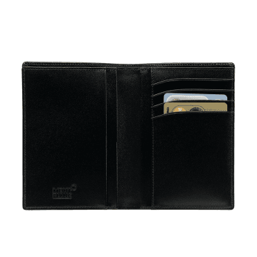 Meisterstuck Black Leather Wallet 7CC