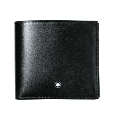 Meisterstuck Black Leather Wallet 8CC