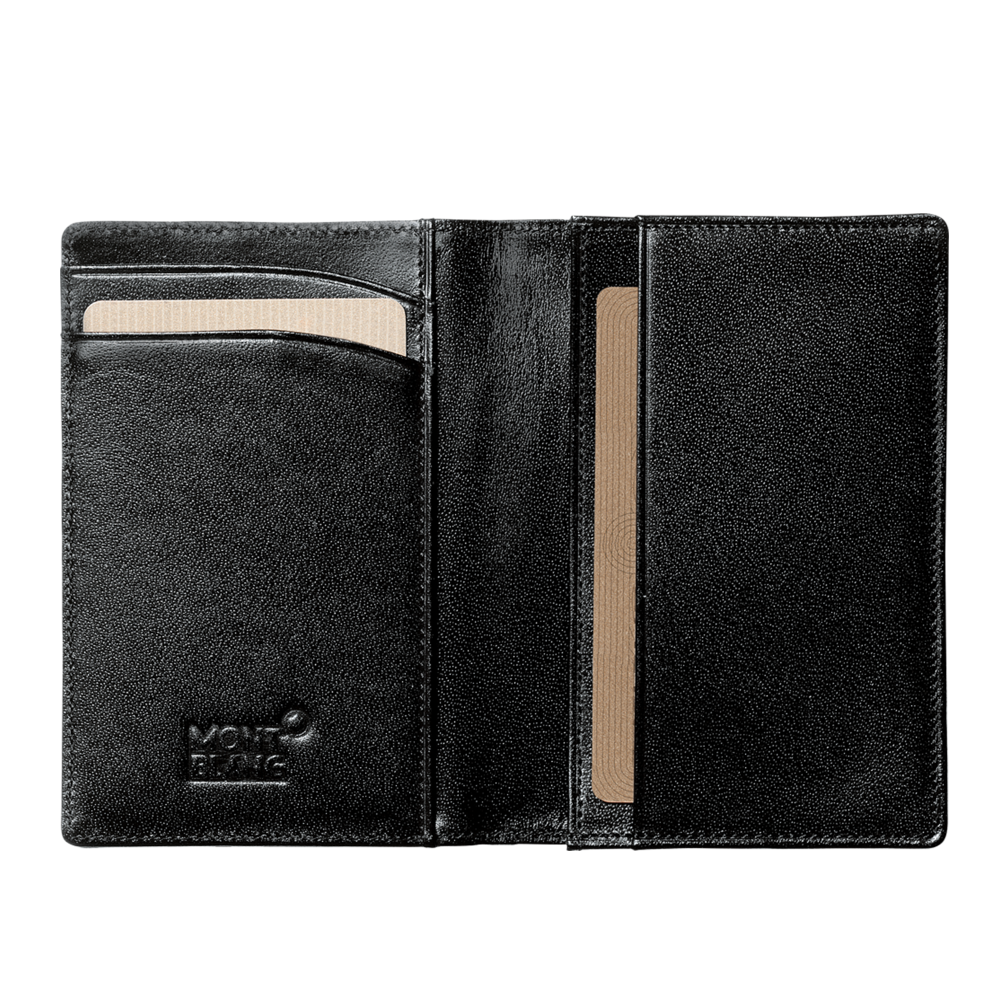 Montblanc meisterstuck business card holder with gusset 07167 meisterstuck business card holder with gusset reheart Image collections