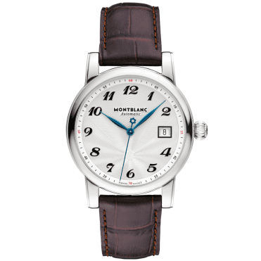 Star Date 39mm Silver Arabic Dial Automatic Watch