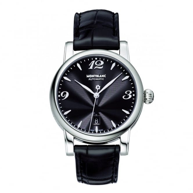 montblanc date automatic steel s 105895