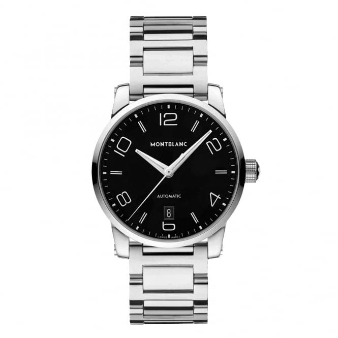 montblanc timewalker date automatic men 39 s bracelet watch from berry 39 s jewellers. Black Bedroom Furniture Sets. Home Design Ideas