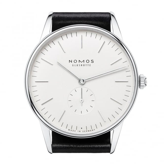 how to wind nomos watch