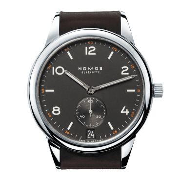Club Automat Datum Dunkel 41.5 Ruthenium Dial Watch