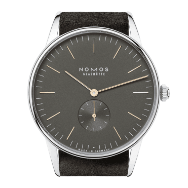 Orion 38 November Grey/Gold Manual Wind Men's Watch
