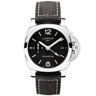 Luminor 1950 3 Days GMT Black Dial Automatic Men's Watch