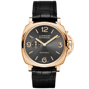 Luminor Due 3 Days Oro Rosso Anthracite Dial Automatic Watch
