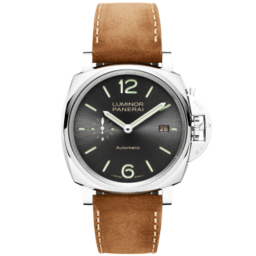 Luminor Due 42mm 3 Days Acciaio Anthracite Dial Automatic Watch