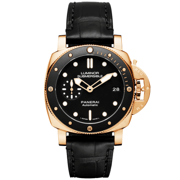 3a62d43ec9f Luminor Submersible 1950 18ct Red Gold 3 Days Automatic Watch · Officine  Panerai ...