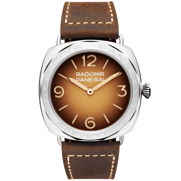 Radiomir 3 Days Brevettato 47mm Brown Dial Automatic Men's Watch