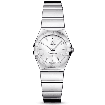 Constellation 24mm Polished Finish Ladies Bracelet Watch