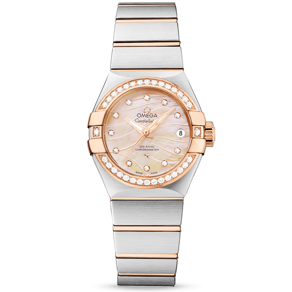 5a0e9e319a0 Omega Omega Constellation 27mm 18ct Red Gold   Mother of Pearl Dial Watch