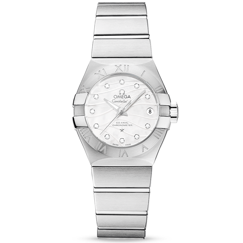 6e9199e2b65 omega-constellation -27mm-white-mother-of-pearl-wavy-diamond-dial-watch-p9215-15431 image.jpg