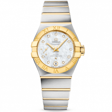Constellation Petite Seconde 27mm Steel & 18ct Yellow Gold Watch