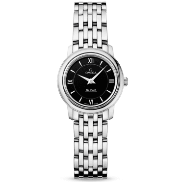 De Ville Prestige Black Dial Ladies Watch