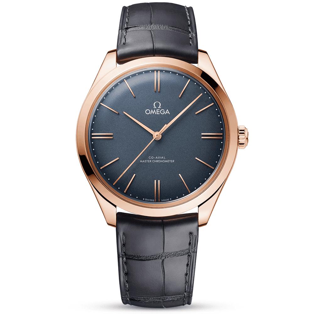 477b2897150 De Ville Tresor 40mm 18ct Sedna Gold & Grey Dial Manual-Wind Watch