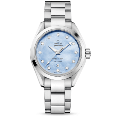 Seamaster Aqua Terra 150M Blue Mother of Pearl Dial Watch